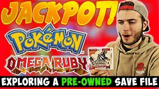 Download EXPLORING a PRE-OWNED SAVE FILE! | WE HIT THE JACKPOT!!! ( Pokemon Omega Ruby) Video
