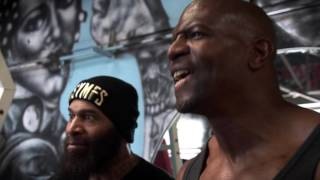 Download Terry Crews vs C.T. Fletcher - CARNAGE!!! Ft. Big Rob,Samson Strong & Legendary Bulo Video