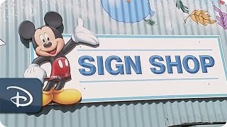 Download Every Role a Starring Role - Disneyland Resort Sign Shop Video
