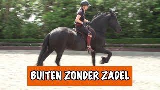 Download Buiten rijden zonder zadel? | PaardenpraatTV Video