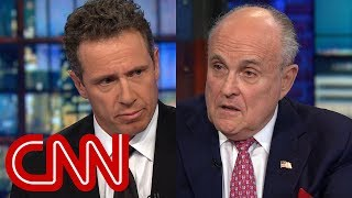 Download Chris Cuomo presses Rudy Giuliani on pardons comment Video