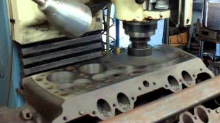 Download Flathead Ford Resleeve, Resurface, and Power Slot Machining on the DPM3 CNC Video