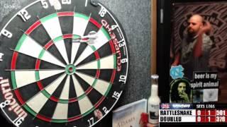 Download Rattlesnake vs DoubleD -WDA darts Video