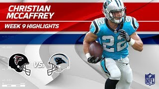 Download Christian McCaffrey Highlights   Falcons vs. Panthers   Wk 9 Player Highlights Video