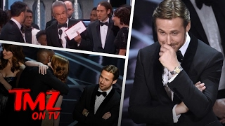 Download Ryan Gosling's Reaction To Oscars Screw Up Is Priceless | TMZ TV Video