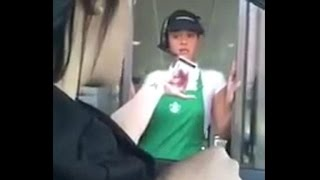 Download Watch: Starbucks customer confronts employee for stealing credit card info Video