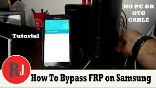 Download How to bypass Factory Reset Protection on Samsung devices without PC or OTG new crazy method Video