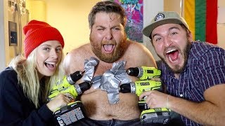 Download THIS WAS A TERRIBLE IDEA!! (DRILLING OFF CHEST HAIR) Video