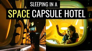 Download TOKYO CAPSULE HOTEL TOUR | Space Capsule Hotel Experience Video