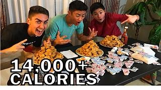 Download 300 CHICKEN NUGGET CHALLENGE!! Video
