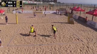 Download A.Mol/Sørum (NOR) vs. Alison/Bruno (BRA) Pool Play FIVB World Tour Xiamen, China (HEATED!) Video