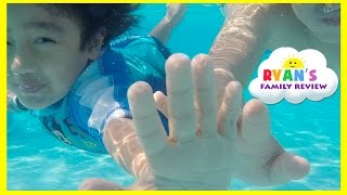 Download Kid Playtime at the Pool! Family Fun Vacation Disney's Art of Animation Resort Splash Pad for Kids Video