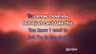 Download Karaoke In Too Deep - Genesis * Video