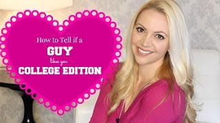 Download How to Tell if a GUY Likes You: COLLEGE EDITION Video