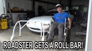 Download DREW BLOOD PUTTING THE ROLL BAR IN! Video