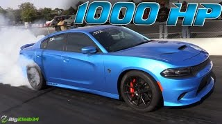 Download 1000hp Charger Hellcat vs the Quarter Mile Video