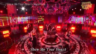 Download 20150419 Happiness - Show Me Your Heart - あけるなキケン Video