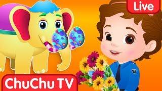 Download ChuChuTV Police Season 2 Episodes Collection - ChuChu TV Surprise Eggs Toys Live Stream Video