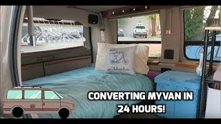 Download Converting Marley: My Conversion Van! (#VanLife) Video