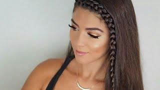 Download MERY💕| Cute School Hairstyles For long hair By *SHERRYMALDONADO*❤💙 Video