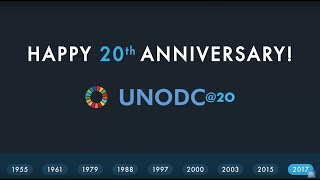 Download UNODC marks its 20th anniversary: Moments and milestones Video