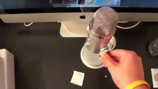 Download Blue Yeti Unboxing and Test Video