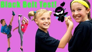 Download Paxton and Payton Test for Black Belt! Ninja Kidz Video
