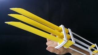 Download Как сделать когти Росомахи | бумага | X-men Wolverine Video
