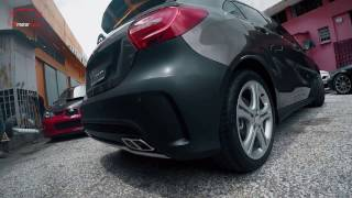 Download Mercedes Benz W176 Convert to A45 AMG Body Kit (No Paint) Video