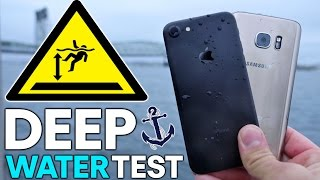Download iPhone 7 vs S7 DEEP Water Test! How Deep Before It Dies? Video