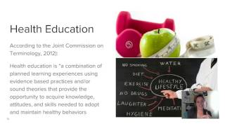 Download PH562 Lecture #1 - Health Education vs. Health Promotion Video