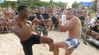 Download BLACK PANTHER vs RUGBY Player and Monster MMA !!!! 1 vs 2 !!! Video