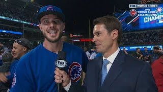 Download WS2016 Gm7: Bryant on closing out dramatic Game 7 Video