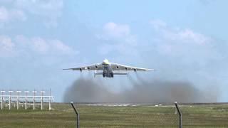 Download Antonov AN-225, Start Airport Leipzig, 2. Juli 2013 Video