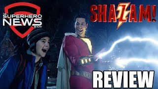 Download SHAZAM! Review - No Spoilers Video