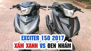 Download Exciter 150 Xám Xanh và Exciter 150 Đen Nhám ▶ So sánh chi tiết! Video