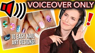 Download I Tried Following ONLY the VOICEOVER of a Cutepolish Nail Art Tutorial Video