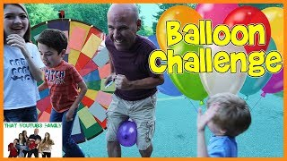 Download Spin The Wheel Balloon Challenge / That YouTub3 Family Video