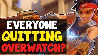 Download Why EVERYONES QUITTING Overwatch (Or So They Say...) | Overwatch Competitive Video
