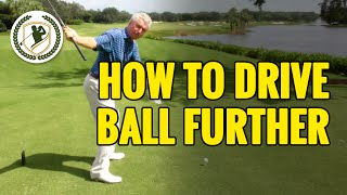 Download HOW TO HIT A DRIVE FURTHER - DRIVER GOLF TIPS Video
