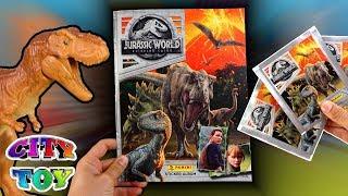 Download Album Jurassic World el Reino Caído + sobres de cromos en City Toy Video