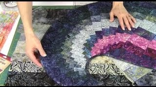 Download Spicy Spiral Table Runner with 9 Degree Wedge Ruler Video