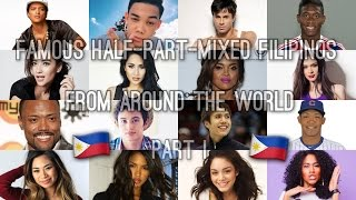 Download Famous Half-Part-Mixed Filipinos from Around the World - Part I [132 People] Video
