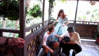 Download Tommy Des Brisay meets Ariel and Eric in Adventureland at Disney World Video