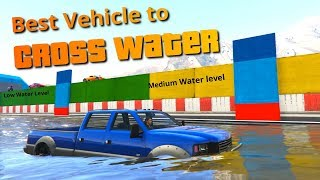 Download GTA V Which is the best Vehicle to cross water PART 1 Video