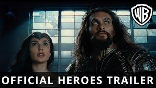 Download JUSTICE LEAGUE - Official Heroes Trailer - Warner Bros. UK Video