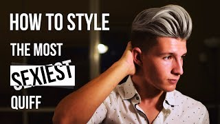 Download ★★★High Volumized Quiff Hairstyle Tutorial★★★   Men's Fashion   Summer 2017 Video