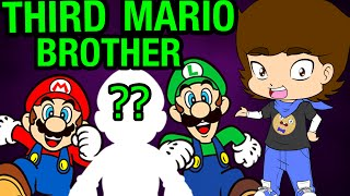 Download Mario and Luigi's SECRET Brother? (Super Mario Bros. Theory) - ConnerTheWaffle Video
