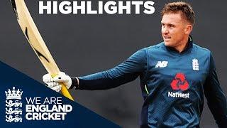 Download Roy Hits Hundred In High Scoring Match | England v Australia 2nd ODI 2018 - Highlights Video