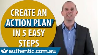 Download How to Create an Action Plan in 5 Steps Video